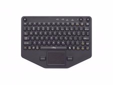 Bluetooth-Compatible Compact Rugged Keyboard with Touchpad