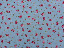 Nice Blue cotton prints cute hearts/roses/bows Rose and Hubble baby cot, quilt covers patchwork tapestry doonas quilt cover set