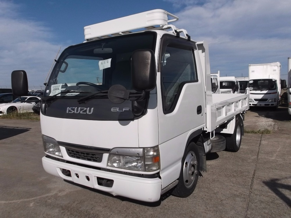 Durable used mitsubishi fuso tipper for industrial use