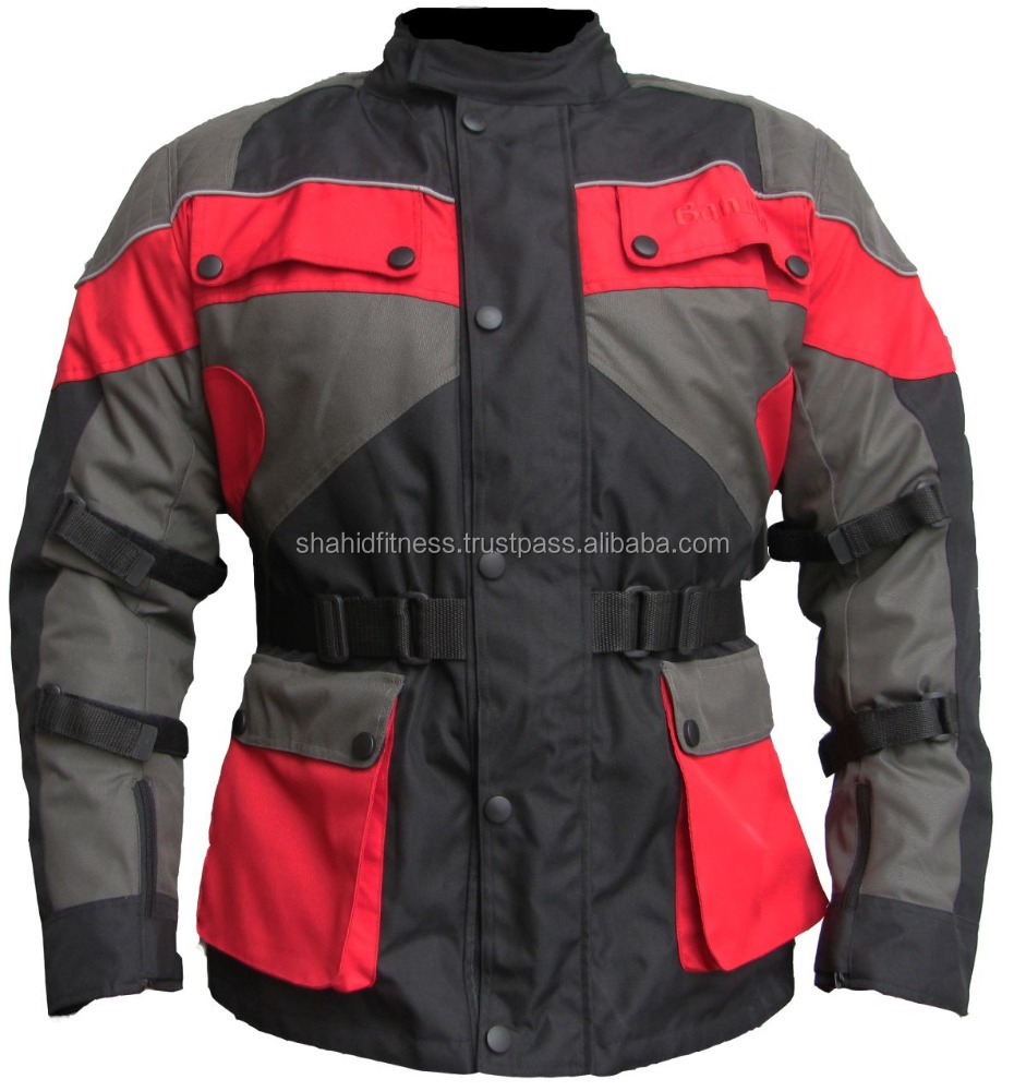 Motorbike Cordura Jacket for Women / Men Textile Jackets / Motorbike Garments in Pakistan