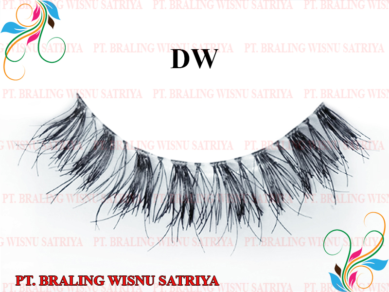 False Eyelashes Human Hair / Synthetic Style DW