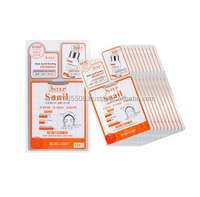 Bergamo 3 Step Snail Mask Pack 10sheets