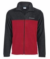 Mens Colorblock Full Zip Steens Mountain Fleece Jacket 140044