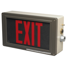 Eaton Ex-Lite LED Exit Signs for Harsh and Hazardous Locations