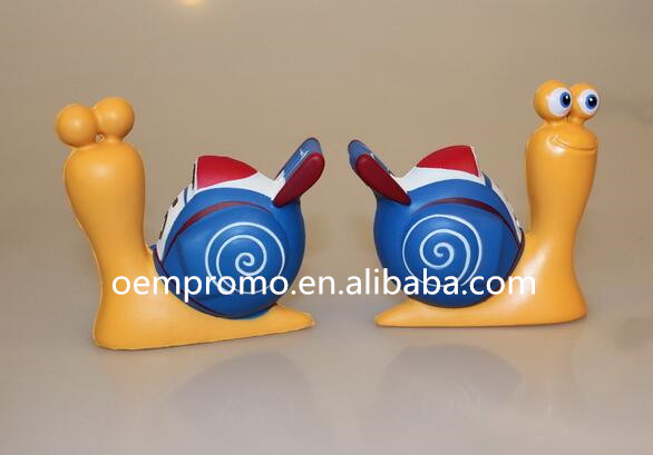 Wholesale Snail Shaped PU Stress Reliever, Snail PU Stress Ball Manufacture