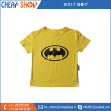 Stylish Designed Kids Printed T-Shirts Available for Bulk Buyers