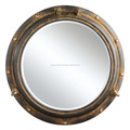 Indian Wall Hanging Metal Round Mirror
