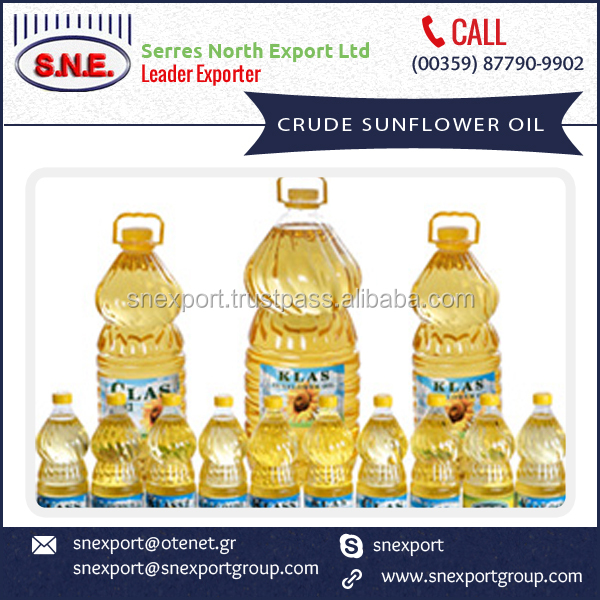 High Quality and Low Price Crude Sunflower Oil for Sale