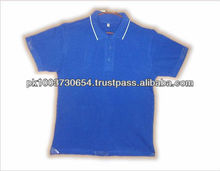 High Quality Tipped Collar 100% Cotton Polo T Shirt