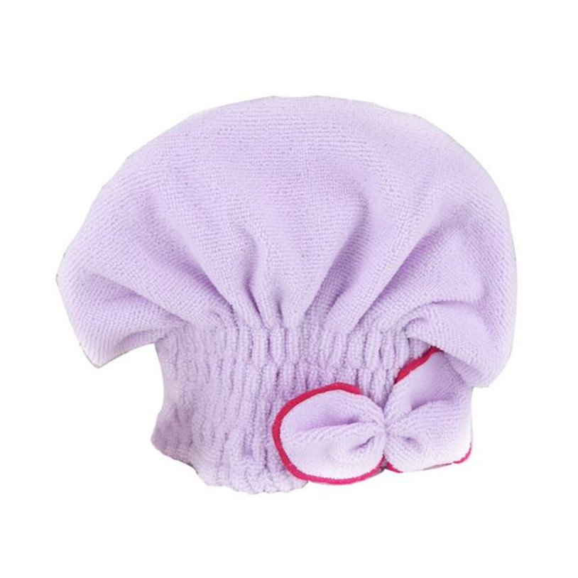 Newly Textile Useful Dry Microfiber Turban Quick Hair Hats Towels Bathing Shower cap from China