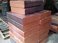 copper ingots manufactures/99.99% high pure copper ingots for sale