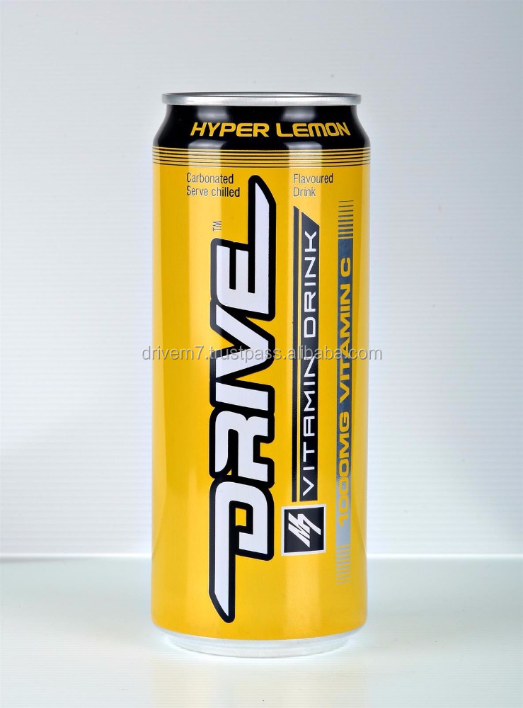 DRIVE M7 Tin Carbonated Vitamin C Energy Drink in Malaysia