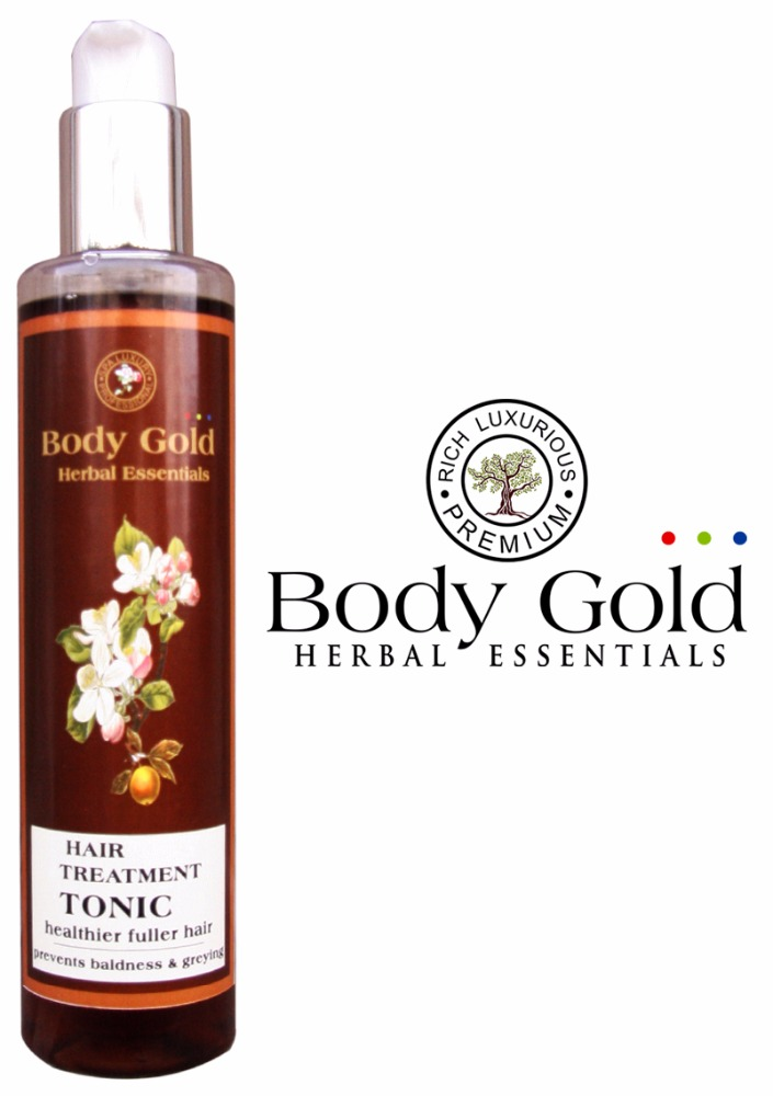 Luxurious Herbal Hair Treatment Tonic