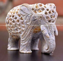 Kalacrafts.com Through Carved Elephant