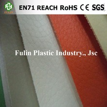 pvc laminated synthetic leather dye leather for sofa upholstery