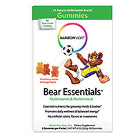 Gummy Bear Essentials Multivitamin & Minerals, 30 Pkts by Rainbow Light