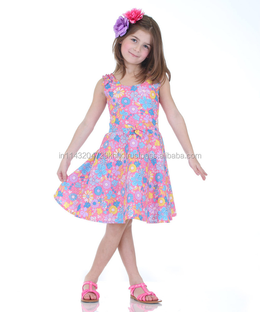 Kids Clothing in USA - 100% Cotton Frock