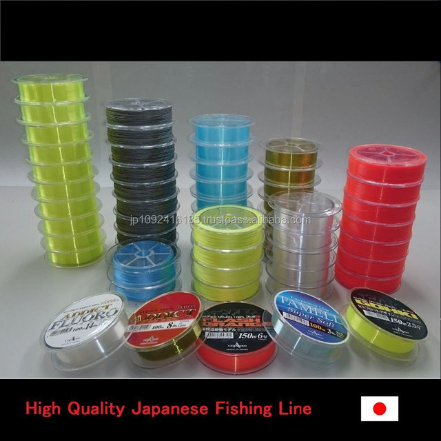 Many kinds of Japan-made line for fishing the tuna , small lot order available
