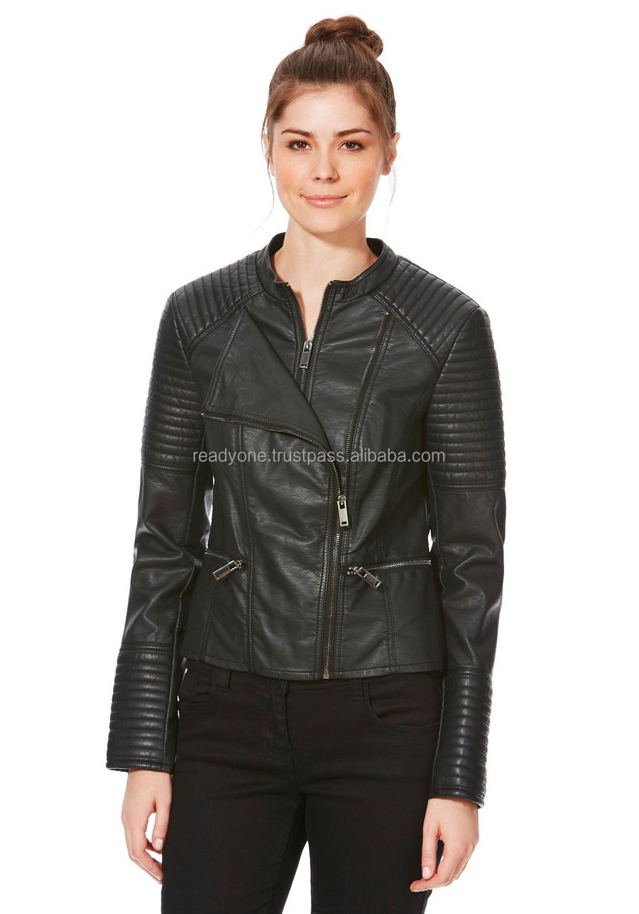 ladies hot sexy style trendy leather jackets