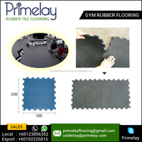 Best Quality and Durable Interlock Gym Rubber Mat Flooring