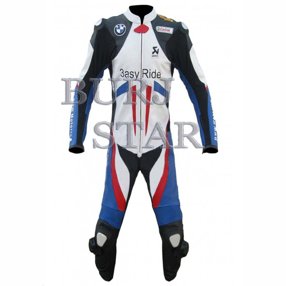 Top Quality Motorbike Motorcycle Leather Suit t , Full Safety Motorcycle Racing Suit