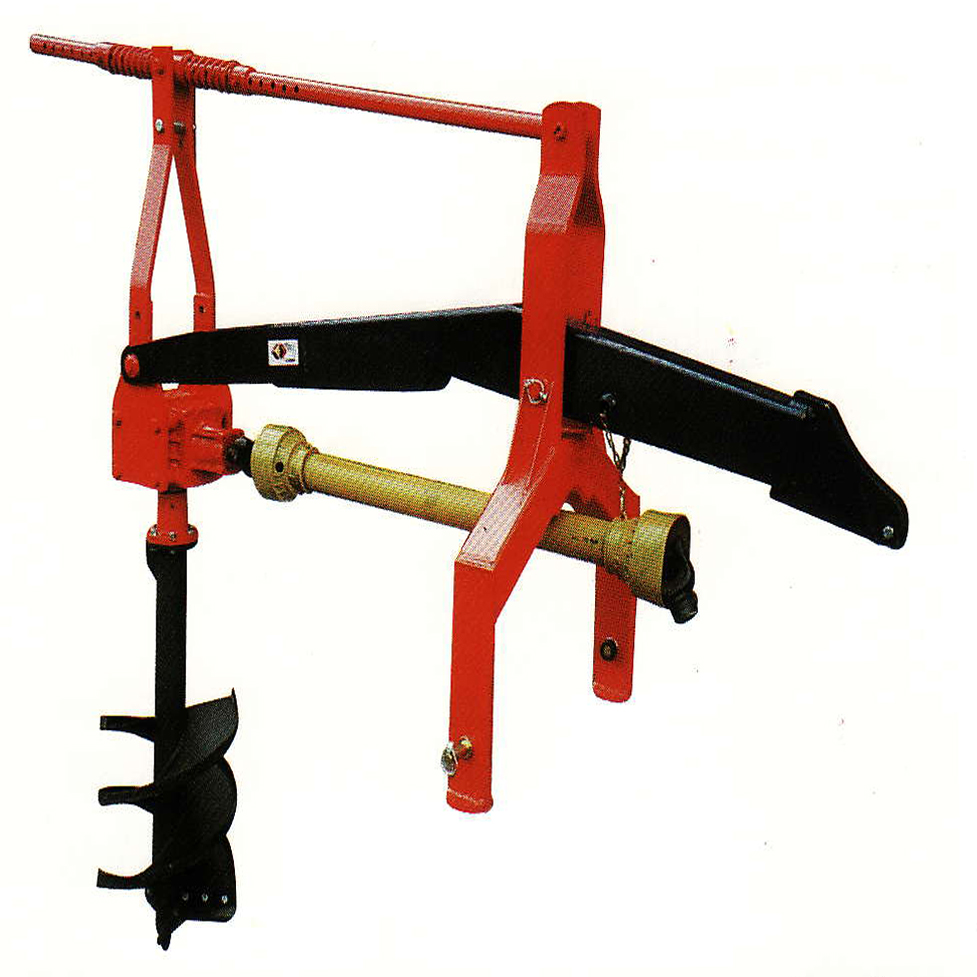 Tractor Mounted Post Hole Digger