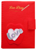 Fantastic Embroidered Book Cover for stationery and office work