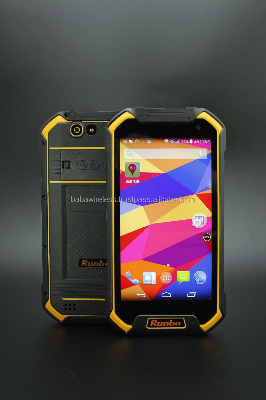 f1 Android 6.0 Quad Core 4G IP67 Rugged Smartphone, rugged smart phone, 4G rugged mobile phone with 3+32GB