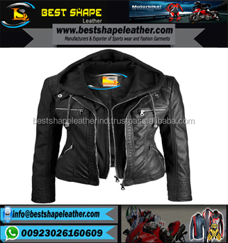 New Style Pakistan Sialkot Wholesale Cheap Price Custom Made Vintage Fashionable Men Leather Jacket/Leather
