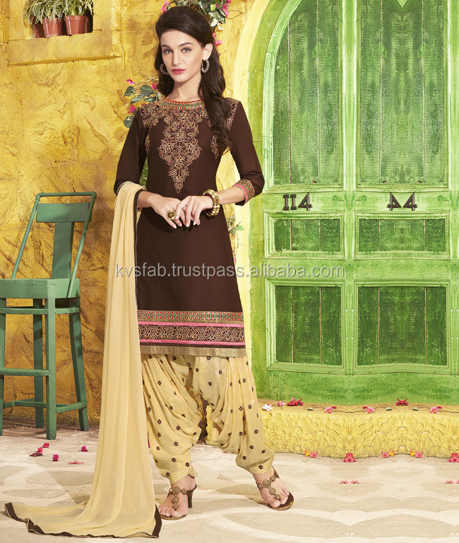 Patiala Dress Material-online shopping -5057 Patiala 34