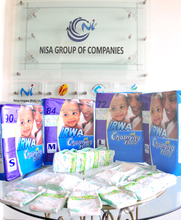 Disposable Baby diapers, IRWA Charming baby diapers