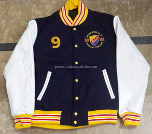Custom Varsity Jackets with Chenille Patches and Embroidered Logos Get Custom Varsity Jackets with Your Own Brand Logos