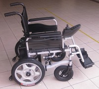 Malaysia deluxe electric wheelchair automatic power motorised control panel old folk wheel chair Penang