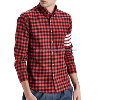 wholesale flannel shirts - Flannel Shirt - flannel branded low price men casual shirts