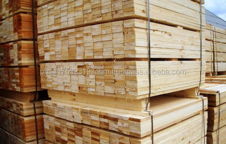 Pine lumber for pallet manufacture from ukraine