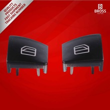 2 Pieces Window Switch Button Cover Set Front Left Door (Driver Side) For Mercedes: A 204 905 5402
