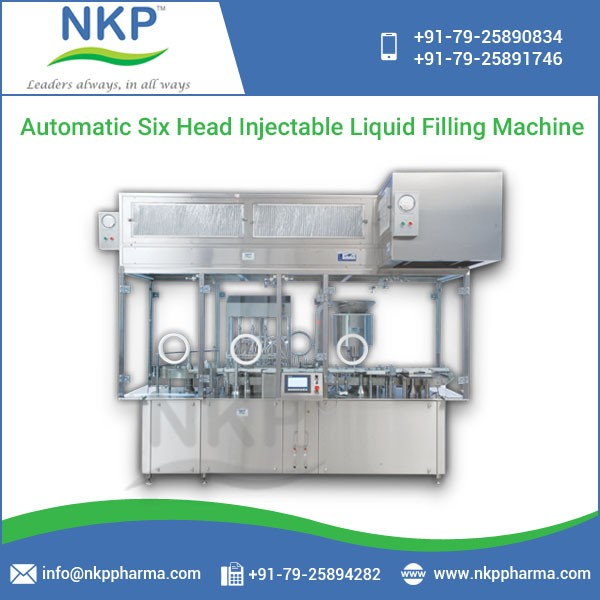 Easy to Maintain Injectable Liquid Filling Machine at Bulk Price