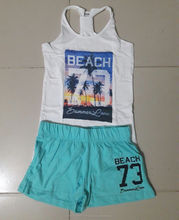 Cotton over fancy summer collection boys & Girls Set original Branded stock