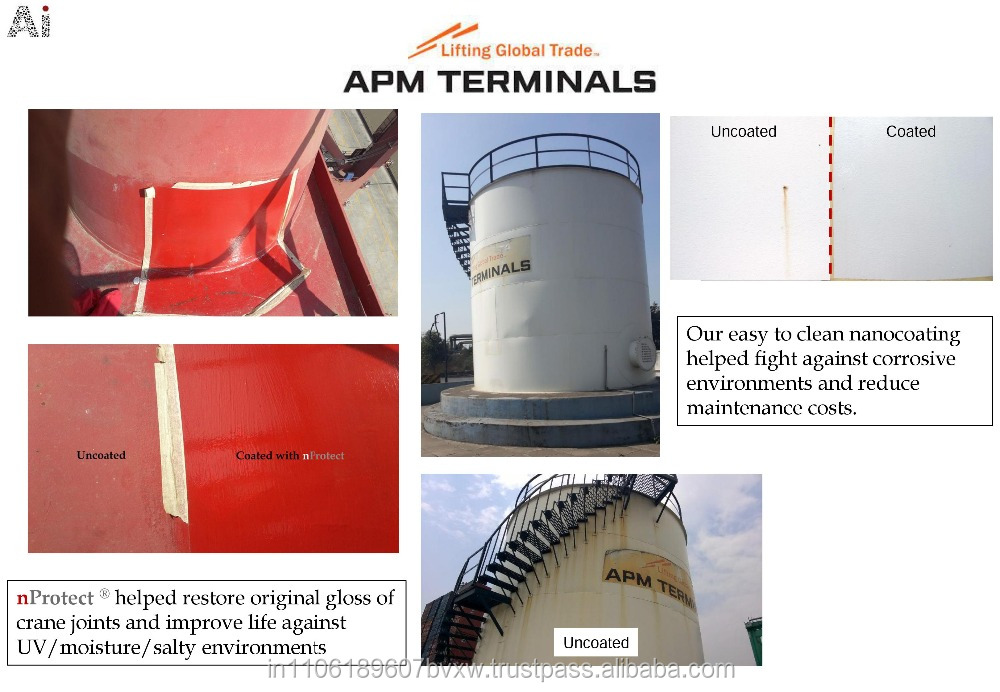 Admat Innovations- Extreme Protection Industrial Plant Coating- nProtect || STP Plant Diesel Tank Chemical Feed Tank Industrial