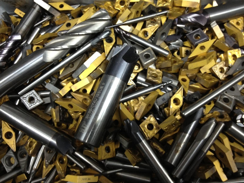 MIXED TUNGSTEN CARBIDE SCRAP
