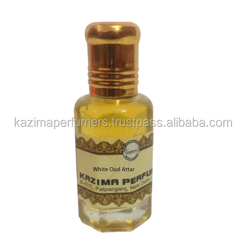 White Oud Attar Perfume Pure Natural Undiluted (Non-Alcoholic 10 ML)