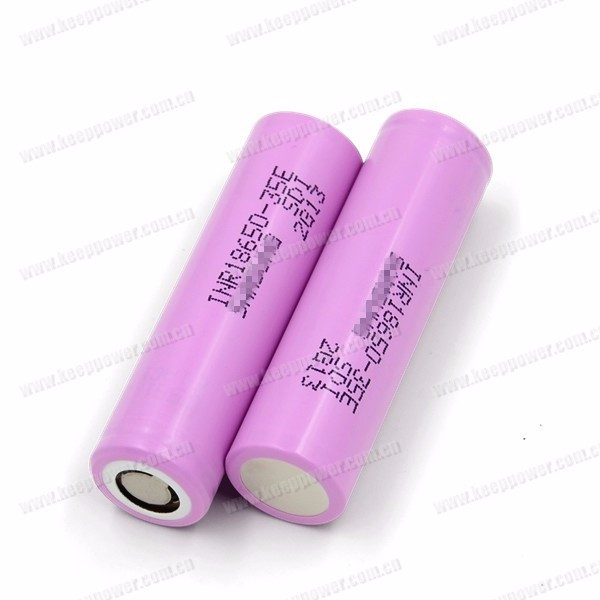 INR18650-35E 35e high capacity 18650 3500mah Li-ion rechargeable battery
