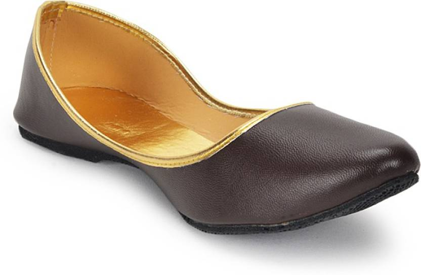 Indian Leather Touch Handmade shoe For Women new indian women juti shoes