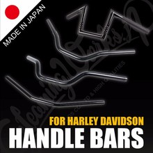 High-grade clip on handlebars for harley davidson , handmade individually by skilled craftspeople at Japan