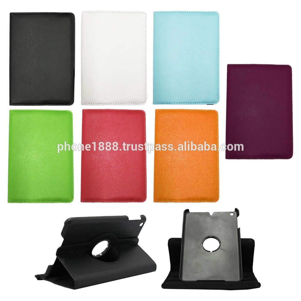Rotating PU Leather Ultra Slim Foilo Case Cover Stand for Apple iPad Air