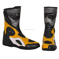 Motorcycle Leather racing Boot