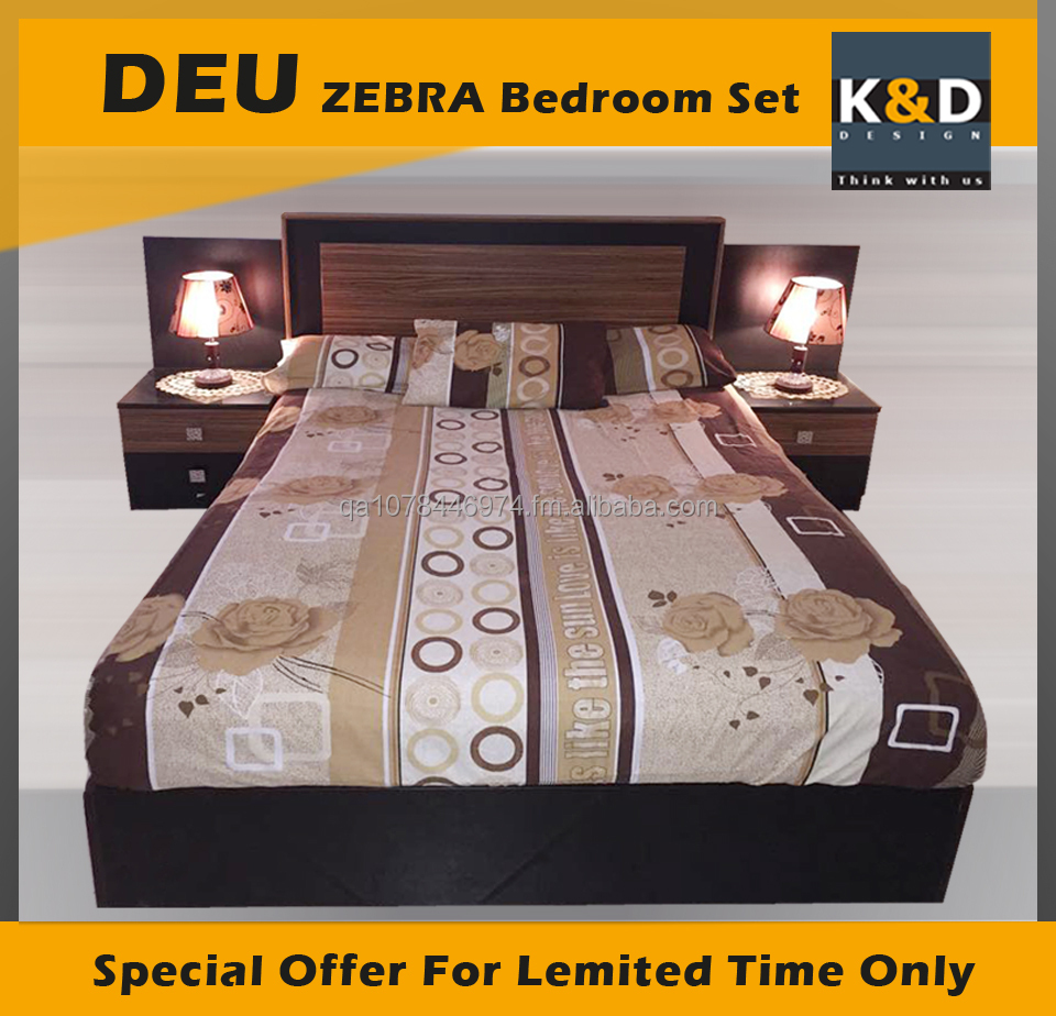 Modern Bedroom set DEU-ZEBRA- KD-160