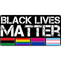 Black Lives Matter Flags Photo License Plate - discounts available, click on picture to view
