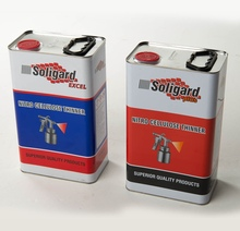Soligard Nitro Cellulose Thinners - ideal solvent for cellulose, acrylic brushing and spraying paints to improve flow