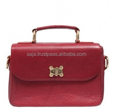 Cow leather school bag SCB-004